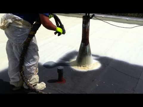 Chytrá pěna - izolace ploché střechy