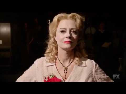 """Bette Davis transforms into Baby Jane - """"Feud: Bette and Joan"""""""