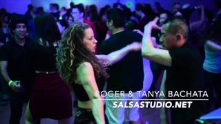 Roger & Tanya dancing Bachata