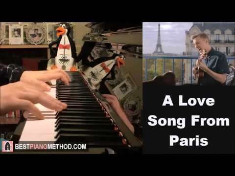 Paint (Jon Cozart) - Tourist: A Love Song From Paris (Piano Cover by Amosdoll)