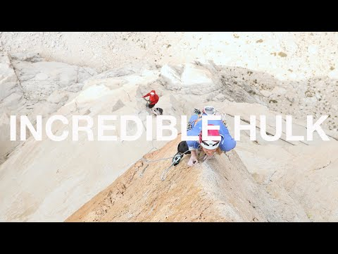 The Incredible Hulk - Emily Harrington and Alex Honnold Free Climb Solar Flare (5.12d)_Best sun videos ever