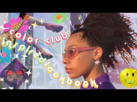 🎶〰color Club Inspired Lookbook!🌈 | 80s Inspired Collab