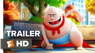 Captain Underpants: The First Epic Movie Trailer #1 (2017)   Movieclips Trailers