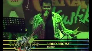Download lagu Ridho Rhoma Syahdu Ganaskustik Mp3