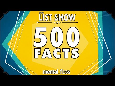 Download 500 Facts - mental_floss List Show Ep. 524 HD Mp4 3GP Video and MP3