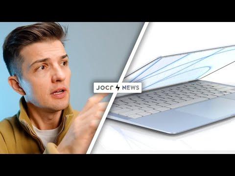 LEAK: Farbige M2 MacBook Air! iPhone 13 Pro und AirPods 3 Dummys!