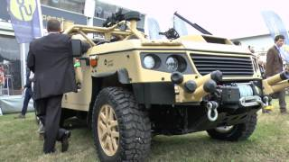 Supacat LRV600 prototype debut