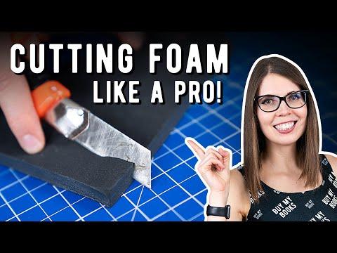 Cutting foam like a Pro