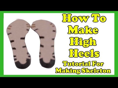 Christian Milano - How to make high Heels - Skeleton Making Tutorial Of a Leather Sandal