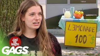 Video Lemonade PRANKS | Best of Just For Laughs Gags MP3, 3GP, MP4, WEBM, AVI, FLV Oktober 2018