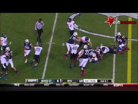 Demarcus Lawrence vs BYU 2013 video.