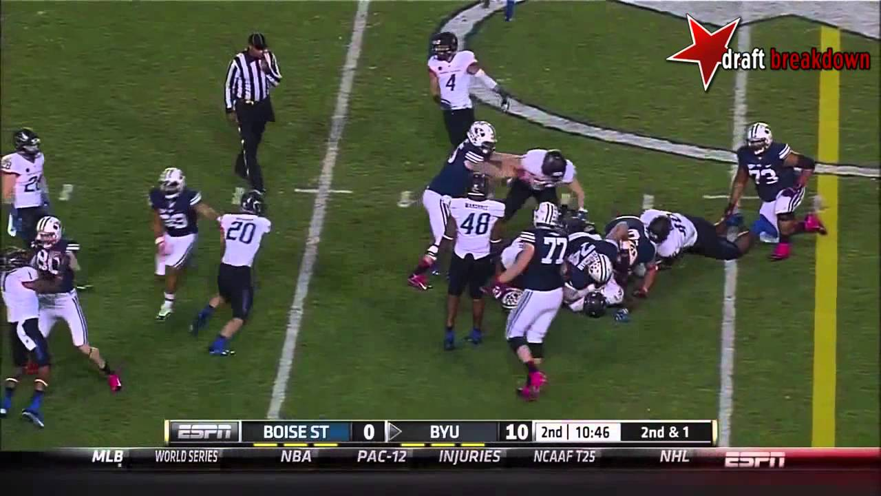 Demarcus Lawrence vs BYU (2013)