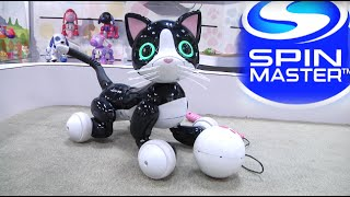 Toy Fair 2015: Spin Master's Zoomer Kitty, Little Charmers, Chubby Puppies & more