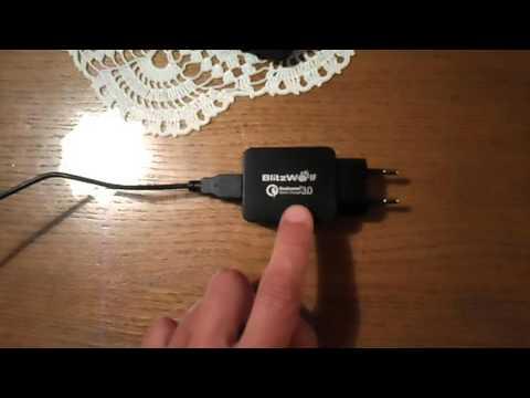 Blitzwoolf charger rewiew