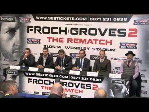 Carl - CARL FROCH v GEORGE GROVES 2 - THE REMATCH - FULL & UNCUT PRESS CONFERENCE (WEMBLEY)