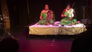 Lalitha & Nandini - The violin sisters @ Kroch, Stockhom. Pt 3