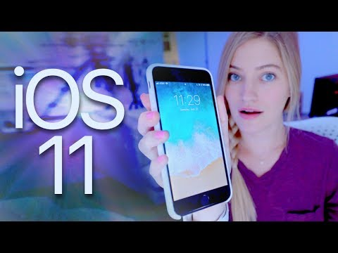 Trying iOS 11!