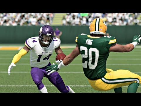Minnesota Vikings vs Green Bay Packers – NFL Week 2 2019 (Madden NFL 20 Gameplay) 9-15-2019