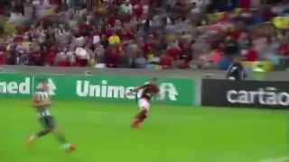 Imagem do gol de Alecsandro contra o faísca no jogo de 27/07/14, pelo campeonato brasileiro 2014. SRN
