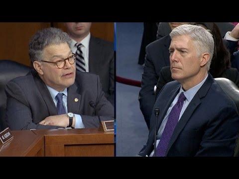 Full Sen. Franken questioning of Judge Gorsuch