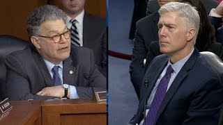 Video Full Sen. Franken questioning of Judge Gorsuch MP3, 3GP, MP4, WEBM, AVI, FLV Oktober 2018