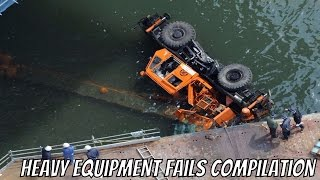 HEAVY EQUIPMENT FAILS COMPILATION ►►Heavy machinery, construction vehicles, heavy trucks, etc. Whatever you call them, they are big, powerful, and a disaster waiting to happen. Watch these forklift drivers, crane operators, and construction workers, all wish they had been a little more careful. ►Visit the Clip'wreck Channel to see more awesome, funny, and  amazing Compilation Videos! (https://www.youtube.com/channel/UCTep0GOBv8YPhCCbXVtDBLQ)►Follow Clip'wreck on Twitter! (https://twitter.com/ClipwreckVideos)Music ►http://www.bensound.com ► http://www.purple-planet.com/home/4583818248 ► http://creativecommons.org/licenses/by/3.0/***********************************************************I am not the creator of this content. I am just a compiler of online content I find enjoyable. For any concerns about content ownership, please contact me at the address listed in my channel description.**********************************************************