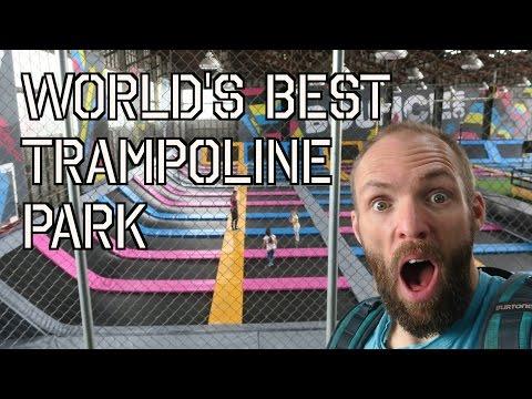 World's Best Trampoline Park - Video Blog 144