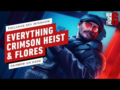 Rainbow Six Siege: Crimson Heist & New Operator Flores - Everything You Need to Know