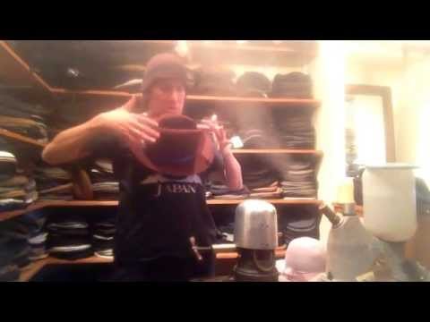 FEDORA DOCTOR how to fix a crushed out of shape hat