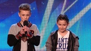 Video Britain's Got Talent S08E05 Bars & Melody Duo Rap an original anti-bullying song Simon surprise MP3, 3GP, MP4, WEBM, AVI, FLV Januari 2019