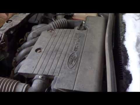 как поменять фильтр воздушный на форд фиеста