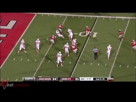 Michael Bennett vs Wisconsin 2013 video.