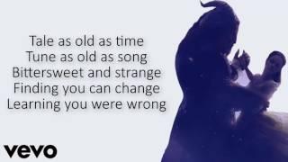 Ariana Grande and John Legend - Beauty and the Beast Lyrics