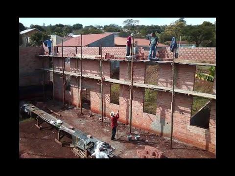 Construção Assembléia de Deus em Barbosa Ferraz -Pr