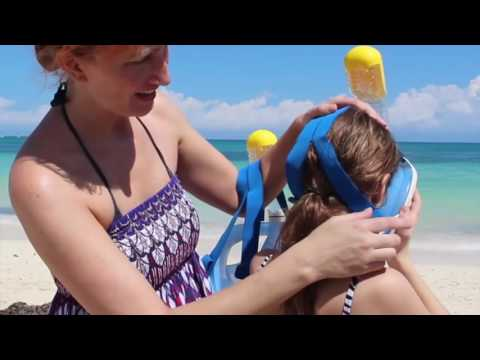The Full Mask Snorkel Great for Kids