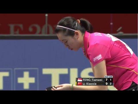 2014 Tokyo WTTTC (WT SF 1st Game)- Li Xiaoxia vs Feng Tianwei