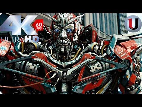 Sentinel Prime Kills Ironhide Scene Transformers 3 Dark of the Moon 2011 CLIP (4K)