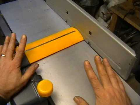 Planer / Thicknesser (Jointer) Review - Part 1.
