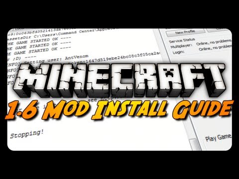 Minecraft: MOD INSTALL GUIDE! (With & Without Forge ModLoader)