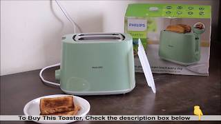 Philips Toaster HD2584 Unboxing and Review   Best Toaster in India   How to use a Toaster