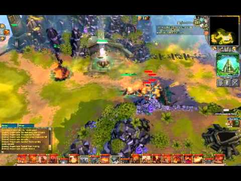 Battleforge - MMORTS gameplay PT-BR