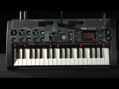 korg - Introducing the microSAMPLER, from Korg. This dynamic, compact instrument extends the micro family with some of Korg's most powerful sampling tools and effec...