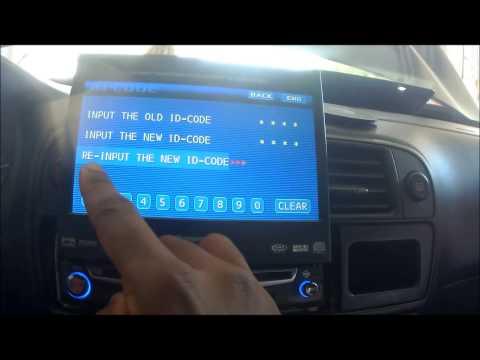 How to unlock your Panasonic flip up screen car radio