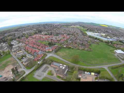 Aerial view of Devizes, Green Lane from my Yuneec q-500 drone.