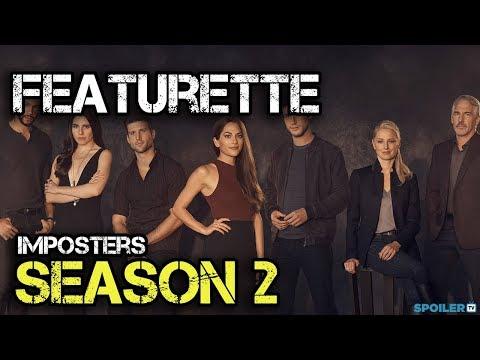 Imposters Season 2 Featurette