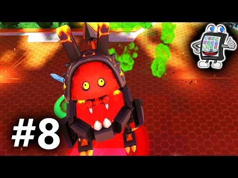 DER RIESIGE MAGMA-KLAPPER VON JESTRO! LEGO NEXO KNIGHTS Deutsch MERLOK 2.0 #8 - Spiel mit mir Apps (видео)