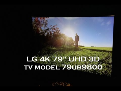 LG Electronics 79UB9800 79 Inch 4K Ultra HD 240Hz 3D LED TV MINE MOUNTED