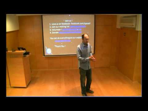 Yariv lecturing at IBM Haifa part 3