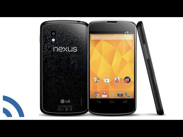 Nexus 4: Hands-on video