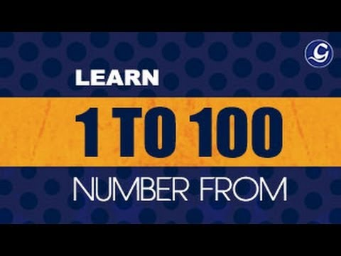 1 to 100 Numbers Spelling